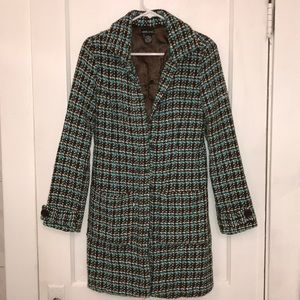 Blue and Brown Long Coat S